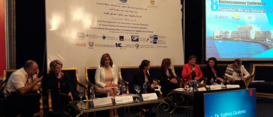 the 8th Businesswoman Day conference 2016